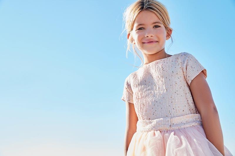Детска рокля от две части Sarabanda 02428
